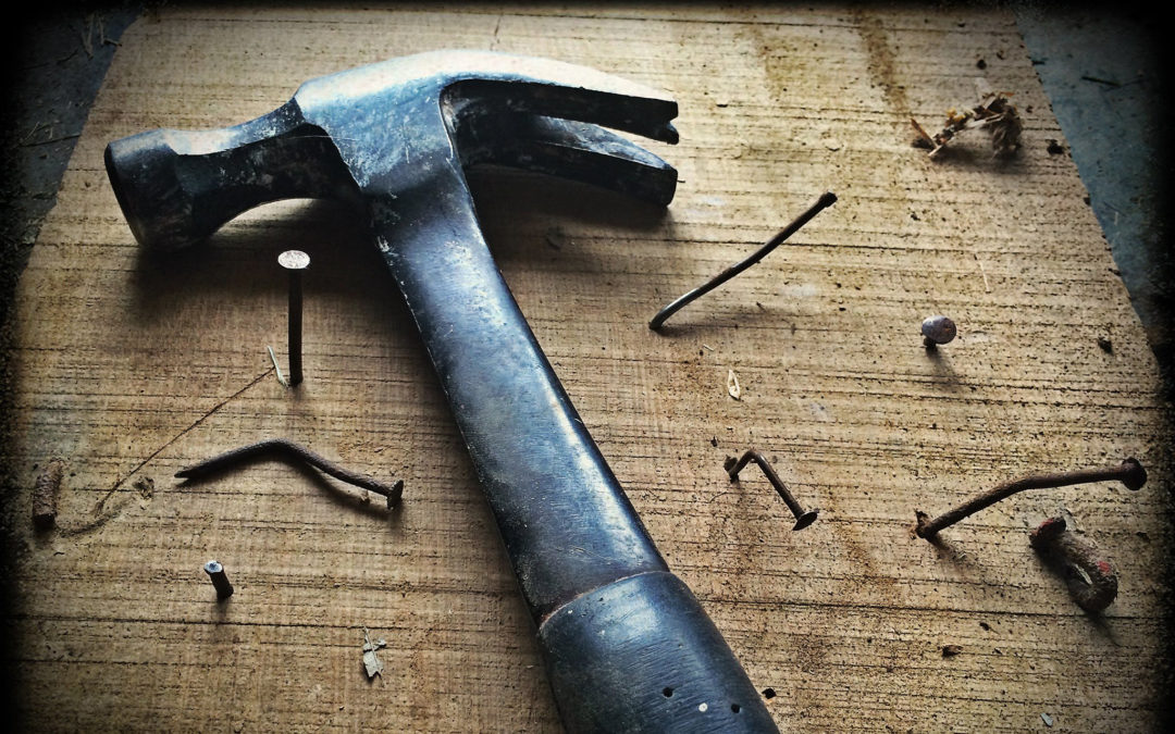 To the man with a hammer…
